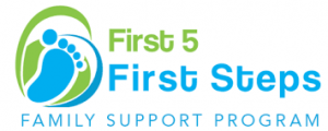 First 5 First Steps logo