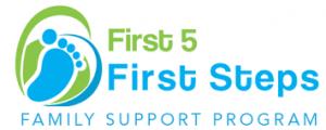 First 5 First Steps logo