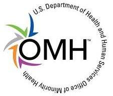 U.S. Department of Health and Human Services Office of Minority Health logo